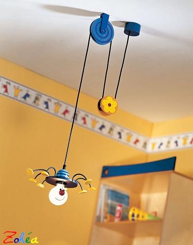 Lampe suspension gribouillis le blog des lampes design - Luminaire chambre d enfant ...